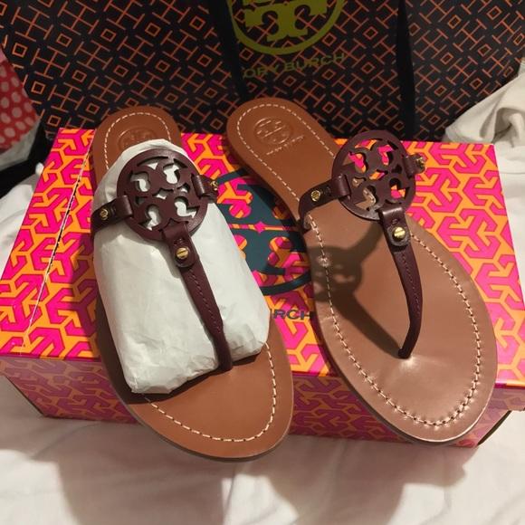 2591f80438b9b Tory Burch Mini Miller Thong Sandal Shoes